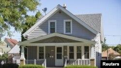 Дом в одном из районов Милуоки, где, как предполагает следствие, жил Уэйд Майкл Пейдж