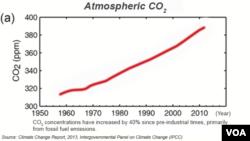 Atmosferik CO2 artışı