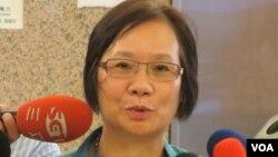 台湾执政的国民党立委 罗淑蕾(美国之音张永泰拍摄)