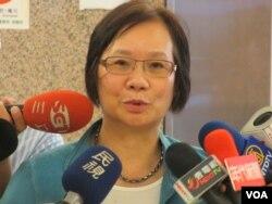 台灣執政的國民黨立委 羅淑蕾(美國之音張永泰拍攝)