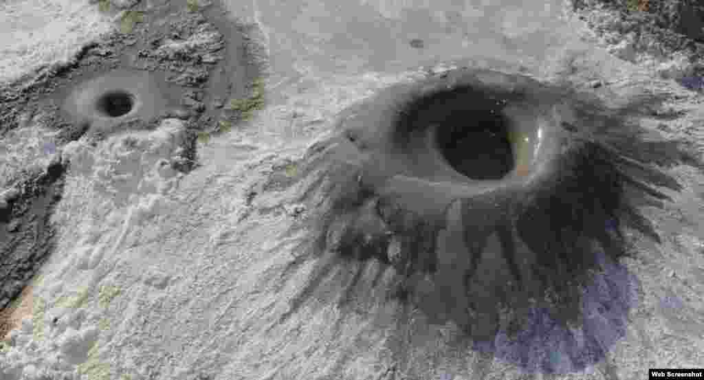 ABŞ-da palçıq vulkanı