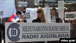 Radio Yugoslavia protest