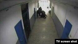 Snimak sa bezbednosne kamere iz zatvora u Crnoj Gori (arhiva)
