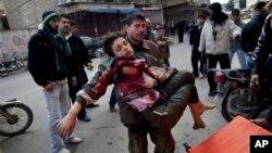 Suriya shimolidagi Idlib shahri