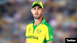 ورلڈ کپ کے لیے آسٹریلیا کی نئی یونیفارم کی نمائش کی جا رہی ہے۔