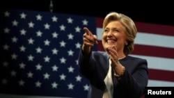 Ứng cử viên Tổng thống Đảng Dân chủ Hillary Clinton.