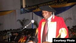The late NUST lecturer Lawton Hikwa.