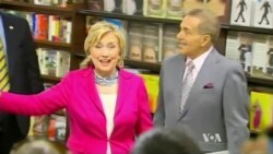 Hillary Clinton Launches Book Tour