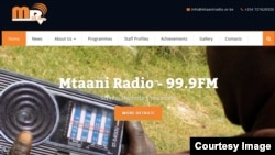 Mtaani radio serves about 5,000 listeners in the Dagoretti area of Nairobi, Kenya. (Courtesy image)