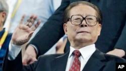 中国前国家主席江泽民(资料照)