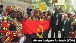 Católicos angolanos em Filadélfia, EUA