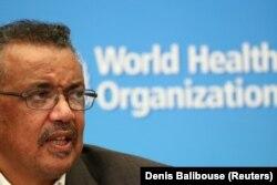 ကမာၻ႔က်န္းမာေရးအဖဲြ႔ခ်ဳပ္ (WHO) အႀကီးအကဲ Dr. Tedros Ghebreyesus