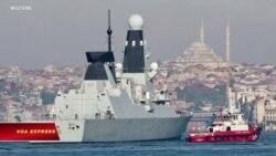 Nga tuyên bố nổ súng cảnh cáo tàu Anh, Anh phủ nhận