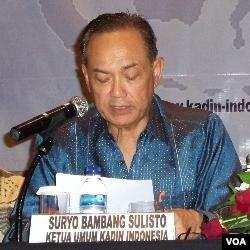Ketua Umum KADIN, Suryo Bambang Sulistio menilai ajakan Presiden sulit diwujudkan karena masih banyaknya 'pungutan' kepada pengusaha.