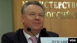 Juru bicara Kementerian Luar Negeri Rusia Alexander Lukashevich (foto: dok).