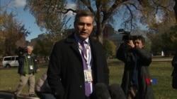 2018-11-20 美國之音視頻新聞: 白宮恢復CNN記者的新聞通行證