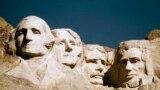 یادبود ملی کوه راشمور در ایالت داکوتای جنوبی
