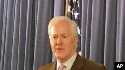 德克薩斯州的共和黨籍聯邦參議員約翰‧科寧