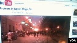 El mundo presenció lo que ocurría en Egipto, justo antes de la caida del presidente Hosni Mubarak, gracias a los videos disponibles en YouTube.