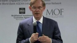 世行行长认为经济存在风险但不会二次衰退