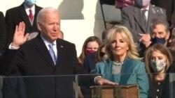 BIDIYO: Fashin baki kan rantsarda da shugaba Joseph Biden da Kamala Harris