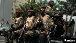 En images: mutineries en Côte d'Ivoire