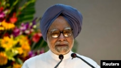 FILE - Indian Prime Minister Manmohan Singh.
