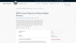 美國務院公佈最新年度人權報告 明文指出新疆發生種族滅絕