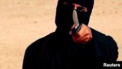 تصویری آرشیوی از یکی از جلادان داعش
