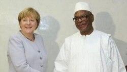 President IBK K a Tama Allemand Djamana Kan