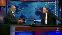 Obama invitado al Daily Show con Jon Stewart