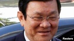 越南国家主席张晋创