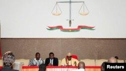 La Cour de justice à Ouagadougou, au Burkina Faso, le 17 avril 2015.