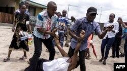 Masu zanga zanga a DR Congo