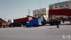 اعتصاب سراسری کامیونداران و رانندگان خودروهای سنگین در اراک