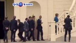VOA60 DUNIYA: GERMANY Shugaban Amurka Barack Obama ya Gana da Shugabannin Tarayyar Turai a Jamus.