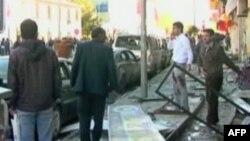 Poprište samoubilačkog napada u Bingolu