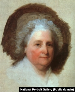 Martha Washington portrait by Gilbert Stuart