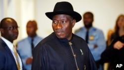 Tổng thống Nigeria Goodluck Jonathan