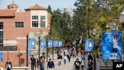 美国加州大学洛杉矶分校的学生