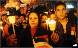 Le nouvel an sur la place Tahrir du Caire