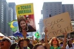 Brasil: Dilma continua a dizer que não vai renunciar ao mandato