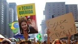 Senado brasileiro pronuncia-se sobre afastamento de Dilma Rousseff