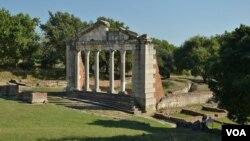 Taman nasional kuno 'Apollonia' di Albania (foto: dok).