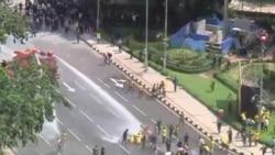 2012-04-28 粵語新聞: 馬來西亞警察用催淚彈和水槍驅散抗議者