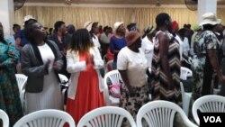 Abalwa impi yenkululeko abenze umhlangano loNkosikazi Auxillia Mnangagwa