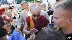 达赖喇嘛8月17日在爱沙尼亚