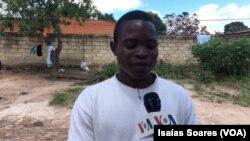 João Luís Ngolambole, activista do Movimento Revolucionário de Malanje