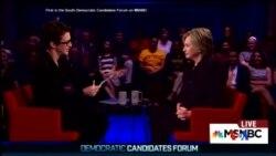 2015-11-07 美國之音視頻新聞: 民主黨總統參選人接受記者提問