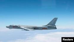 中國H-6轟炸機。(資料照)